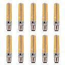 ieftine Ustensile & Gadget-uri de Copt-10pcs 5 W Becuri LED Corn 1000-1200 lm BA15d T 136 LED-uri de margele SMD 5730 Intensitate Luminoasă Reglabilă Decorativ Alb Cald Alb Rece 220 V 110 V