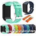voordelige Horlogebandjes voor Garmin-Horlogeband voor VivoActive HR Garmin Sportband / Klassieke gesp Silicone Polsband