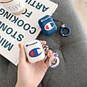 رخيصةأون أغطية أيفون-غطاء من أجل AirPods ضد الصدمات / ضد الغبار / نموذج حالة سماعة ناعم