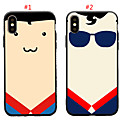 cheap Galaxy Core 2-Case For Apple iPhone XS / iPhone XR / iPhone XS Max Shockproof Back Cover Cartoon Soft TPU