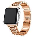 voordelige Galaxy A8 Hoesjes / covers-voor apple horlogeband 40mm 44mm 38mm 42mm dames diamant band voor apple horloge serie 4 3 2 1 iwatch armband roestvrij stalen band