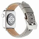 voordelige Apple Watch-bandjes-Horlogeband voor Apple Watch Series 5/4/3/2/1 Apple Klassieke gesp Nylon / Echt leer Polsband