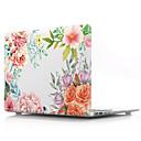 voordelige Motorhandschoenen-transparante bloem hard cover van pvc voor macbook pro air retina telefoonhoes 11/12/13/15 (a1278-a1989)