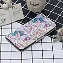 ieftine Cercei-Maska Pentru Samsung Galaxy Galaxy Note 10 / Galaxy Note 10 Plus Portofel / Titluar Card / Cu Stand Carcasă Telefon Animal PU piele