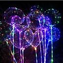 رخيصةأون مصابيح ليد مبتكرة-3M أضواء سلسلة 30 المصابيح أبيض دافئ / أحمر / أزرق ضد الماء / حزب / ديكور بطاريات آ بالطاقة 1PC