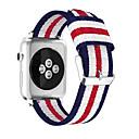 tanie Opaski do Apple Watch-Watch Band na Apple Watch Series 5/4/3/2/1 Jabłko Pasek sportowy / Klasyczna klamra Nylon Opaska na nadgarstek