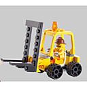 رخيصةأون البناء و المكعبات-SHIBIAO أحجار البناء مجموعة ألعاب البناء ألعاب تربوية 37 pcs سيارات العسكرية رافعة شوكية متوافق Legoing تصميم جديد اصنع بنفسك كلاسيكي رافعة شوكية للصبيان للفتيات ألعاب هدية