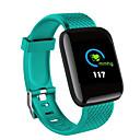 ieftine Trackere de Activitate Smart-X9 PLUS Uita-te inteligent iOS / Android Rezistent la apă / Monitor Ritm Cardiac / Măsurare Tensiune Arterială Senzor de lumină ambientală Cauciuc / Aliaj Negru / Roșu Deschis / Verde Deschis