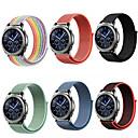 お買い得  ファッションネックレス-20 22ミリメートル腕時計バンド用サムスンギャラクシー腕時計46ミリメートル42ミリメートルギアs3フロンティアクラシックs2スポーツナイロンamazfit bip huawei社ウォッチgtストラップ