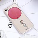 voordelige iPhone-hoesjes-hoesje voor Apple iPhone 7 plus waterdicht / stofdicht / doorschijnende achterkant dier zacht TPU / schattige kleine dier shell telefoon hoesje voor iPhone 5 / 5s / 6 / 6s / iPhone 6 / 6s plus /
