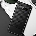 tanie Etui / Pokrowce do Samsunga Galaxy S-miękki pokrowiec na telefon komórkowy tpu z włókna węglowego do samsung galaxy s10 plus s10e s10 s9 plus s9 s8 plus s8 pokrowiec silikonowy