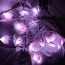 ieftine Fâșii Becurie LED-1.5m Fâșii de Iluminat 10 LED-uri Alb Cald Creative / Petrecere / Decorativ Baterii AA alimentate 1set