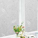 رخيصةأون الستائر-فيلم نافذة وملصقات زخرفة منقوشة هندسي / شخصية PVC ملصق النافذة