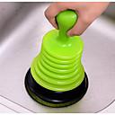 voordelige Badkamergadgets-gereedschap creatieve moderne hedendaagse siliconenrubber 1pc toiletaccessoires