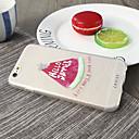 voordelige Galaxy J1 Hoesjes / covers-hoesje Voor Apple iPhone X / iPhone 7 Plus / iPhone 7 Waterbestendig / Stofbestendig / Ultradun Achterkant Voedsel TPU
