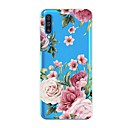 voordelige Galaxy A5(2016) Hoesjes / covers-hoesje Voor Samsung Galaxy A6 (2018) / A6+ (2018) / Galaxy A7(2018) Schokbestendig / Transparant / Patroon Achterkant Bloem TPU