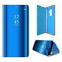 voordelige Galaxy Note-serie hoesjes / covers-hoesje Voor Samsung Galaxy S6 edge Flip / Auto Slapen / Ontwaken Volledig hoesje Effen Hard PC