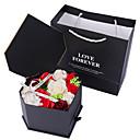 voordelige Matten & Kleedjes-Kunstbloemen 1 Tak Klassiek Bruiloft Bruidsboeketten Rozen Eeuwige bloemen Bloemen voor op tafel