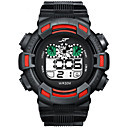 povoljno Smart Wristbands-Muškarci digitalni sat Šiljci za meso Sportski Guma Crna / Bijela / Zelena 30 m Vodootpornost Kalendar New Design Šiljci za meso Outdoor - Black / Green Crvena Svijetlo zelena Dvije godine Baterija