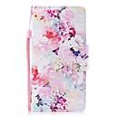 رخيصةأون أغطية أيفون-غطاء من أجل Apple iPhone XS / iPhone XR / iPhone XS Max محفظة / حامل البطاقات / ضد الصدمات غطاء كامل للجسم زهور جلد PU