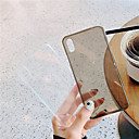 voordelige Apple Watch-bevestigingen & -houders-Apple-hoesje voor Apple iPhone X / iPhone XS Max Ultradunne achterkant Effen Soft TPU voor iPhone 7/8 Plus iPhoneX / XS Max / XR