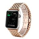 رخيصةأون أساور ساعات هواتف أبل-حزام إلى أبل ووتش سلسلة 5/4/3/2/1 Apple فراشة مشبك معدني ل ستانلس ستيل شريط المعصم