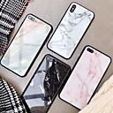 voordelige iPhone-hoesjes-hoesje Voor Apple iPhone XS / iPhone XR / iPhone XS Max Spiegel / Patroon Achterkant Marmer Hard Gehard glas