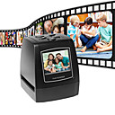 رخيصةأون ماسحات ضوئية وناسخة-فائقة الدقة صور الماسح الضوئي 35 / 135mm فيلم الشريحة الرقمية الماسح الضوئي USB فيلم محول 2.36 شاشة LCD بطاقة عمل الماسح الضوئي