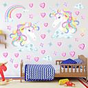 povoljno Ukrasne naljepnice-Dekorativne zidne naljepnice - Zidne naljepnice / Naljepnice za zidne zidove 3D / Vile Spavaća soba / Dječja soba