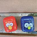 ieftine Îngrijire Unghii-airpods caz pc solid culoare minunat desen animat model rezistent la șoc acoperire portabil pentru airpods1& airpods2 (nu este inclus în cazul încărcării airpods)