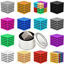 رخيصةأون 3D الألغاز-216 pcs 3mm ألعاب المغناطيس كرات مغناطيسية أحجار البناء سوبر قوي نادر الأرض مغناطيس مغناطيس النيوديميوم مغناطيس النيوديميوم معاصر كلاسيكي & خالد أنيقة & حديثة