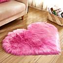 voordelige Matten & Kleedjes-Dongguan pho_07r6 hartvormig 70x90cm liefde imitatie wollen tapijt vloermat matras deken bankkussen voetkussen pluche woonkamer salontafel sofa slaapkamer wit