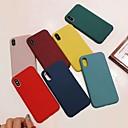 povoljno iPhone maske-Θήκη Za Apple iPhone XS / iPhone XR / iPhone XS Max Otporno na trešnju Stražnja maska Jednobojni Mekano silika gel