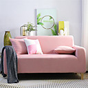 halpa Irtopäälliset-sohvan kansi joustava halpa sohvan kansi 1 kpl yksivärinen pehmeä lipsahdus spandex-jacquard-kangas pestävä huonekalujen suojus nojatuoli l-muotoinen loveseat