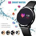 رخيصةأون الأساور الذكية-Q8 الذكية ووتش oled شاشة ملونة smartwatch الرجال اللياقة البدنية تعقب معدل ضربات القلب رصد معصمه الذكية