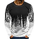 povoljno Muške majice i potkošulje-Majica s rukavima Muškarci - Osnovni Dnevno Color block Obala