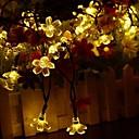 povoljno Muški satovi-solarne svjetiljke vodio string svjetla 7m 50led s trešnja cvjetovi vijenac Božić za vjenčanje vrt stranke otvoreni klub