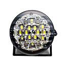 ieftine Faruri de Mașină-2pcs 12v 18L drl rotund lampă de ceață masina de conducere în timpul zilei de funcționare lumina alb strălucitor