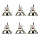 ieftine Convertor de Voltaj-6pcs 2 W Spoturi LED 300 lm MR11 MR11 9 LED-uri de margele SMD 5730 Alb Cald Alb 9-30 V