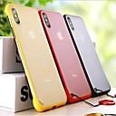 رخيصةأون المكياج & العناية بالأظافر-غطاء من أجل Apple iPhone XS / iPhone XR / iPhone XS Max نحيف جداً / مثلج / شفاف غطاء خلفي لون سادة / شفاف قاسي الكمبيوتر الشخصي