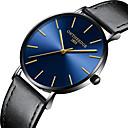 voordelige Herenhorloges-Heren Stalen Horloge Kwarts Roestvrij staal Vrijetijdshorloge Analoog minimalistische - Zwart Goud Rose Blauw