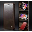 رخيصةأون حافظات / جرابات هواتف جالكسي A-غطاء من أجل Samsung Galaxy Galaxy A30 (2019) / Galaxy A50 (2019) / Samsung Galaxy A20 (2019) محفظة / حامل البطاقات / ضد الصدمات غطاء كامل للجسم لون سادة قاسي جلد PU