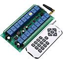 voordelige Relais-dc12v-24v 18ch smart switch 10a relaisontvanger / leercode 18ch rf zender en ontvanger 433 mhz