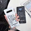 رخيصةأون حافظات أيفون 11-غطاء من أجل Samsung Galaxy S9 / S9 Plus / S8 Plus IMD / نموذج غطاء خلفي كارتون ناعم TPU