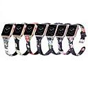 voordelige Galaxy A8 Hoesjes / covers-bloem patroon lederen band voor apple horloge serie 4 3 2 1 riem gesp armband riem voor iwatch 38mm / 42mm / 40mm / 44mm