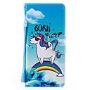 voordelige Galaxy Note-serie hoesjes / covers-hoesje Voor Samsung Galaxy Note 9 / Note 8 Portemonnee / Kaarthouder / Schokbestendig Volledig hoesje dier PU-nahka