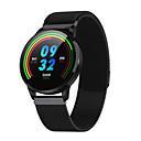 رخيصةأون ساعات ذكية-S16 smartwatch الفولاذ المقاوم للصدأ BT اللياقة البدنية تعقب دعم إخطار / قياس ضغط الدم الرياضة ووتش الذكية للهواتف سامسونج / اي فون / الروبوت