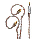 voordelige Galaxy S6 Edge Plus Hoesjes / covers-bqeyz 8 kern oortelefoon upgrade kabel mmcx 2.5mm gebalanceerde plug koptelefoon kabels vervangen