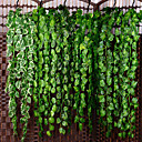 رخيصةأون أزهار اصطناعية-زهور اصطناعية 1 فرع كلاسيكي معلقة على الحائط معلق حفلة / سهرة الزفاف نباتات أزهار الحائط
