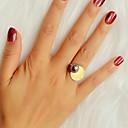ieftine Inele-Pentru femei Inel 1 buc Auriu Imitație de Perle Aliaj Stilat Design Unic Modă Cadou Zilnic Bijuterii Geometric Cool